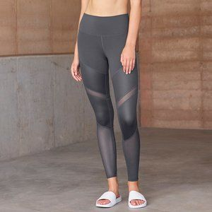 Alo Yoga Sheila mesh panel high waist leggings xxs